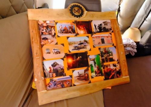 LOST TRACK Reiseblog Afrika Marokko Sahara Wüste Offroad 4x4 Toyota Landcruiser HZJ78 Garage Jaboud Challenge Zagora Vanlife Werkstatt Mechaniker DIY Treibholz Art