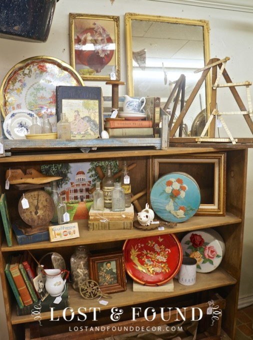 Antique Booth Display
