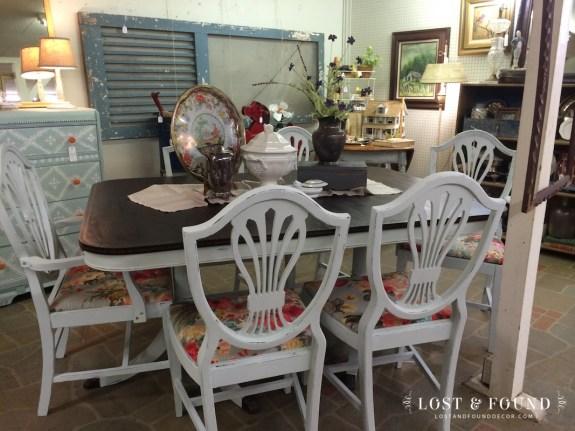 Duncan Phyfe Dining Set