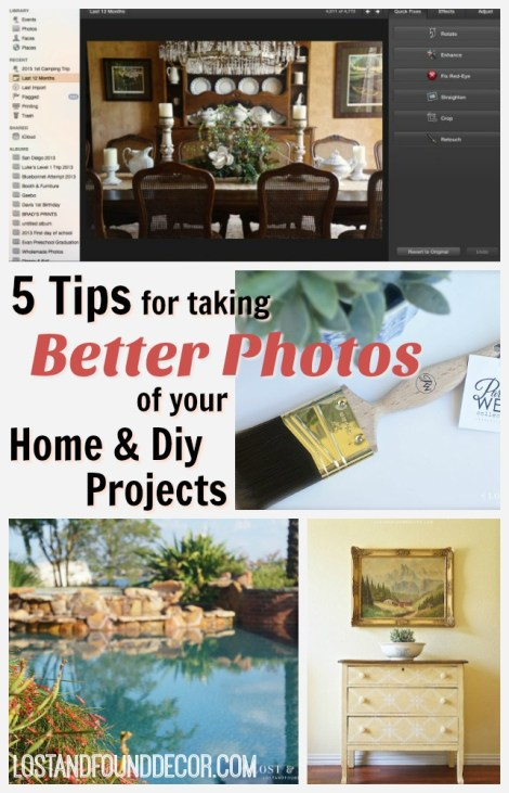 Easy ways to get better photos for your blog