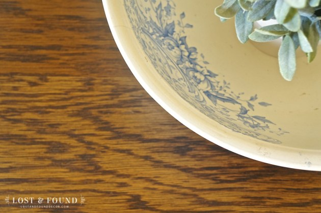 Oak Washstand Furniture Makeover