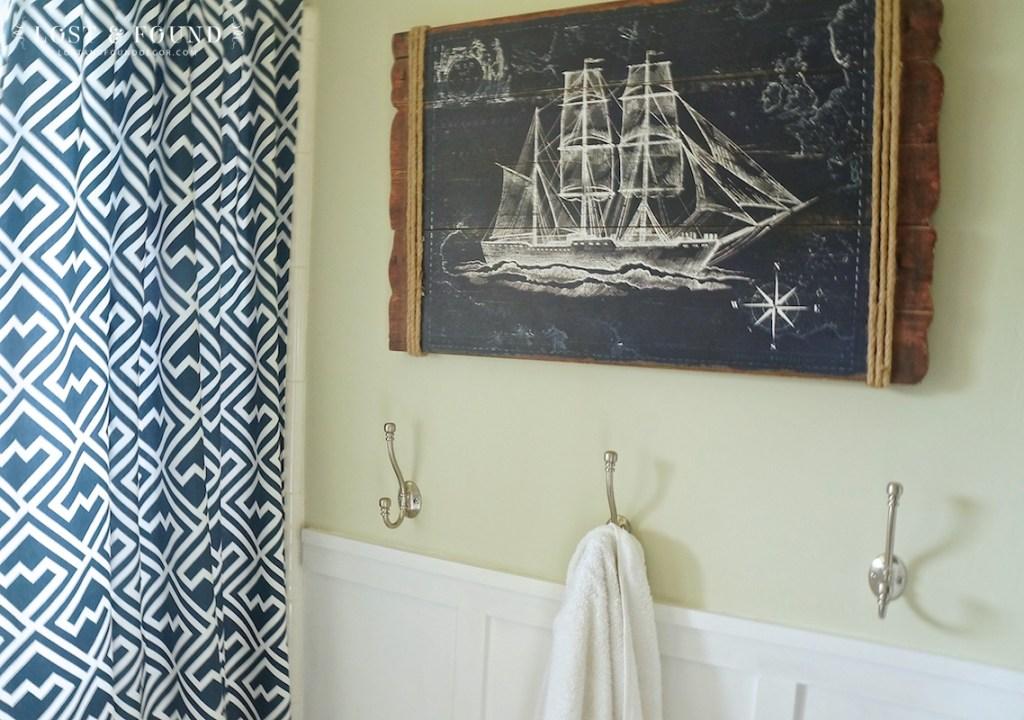Boys Bathroom decor