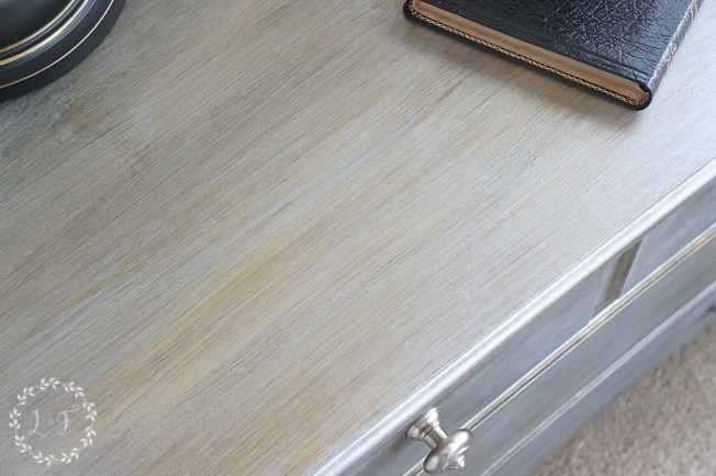 Nightstand Makeover using Fusion Studio Metallics