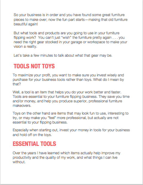 Tools Not Toys Screen Shot