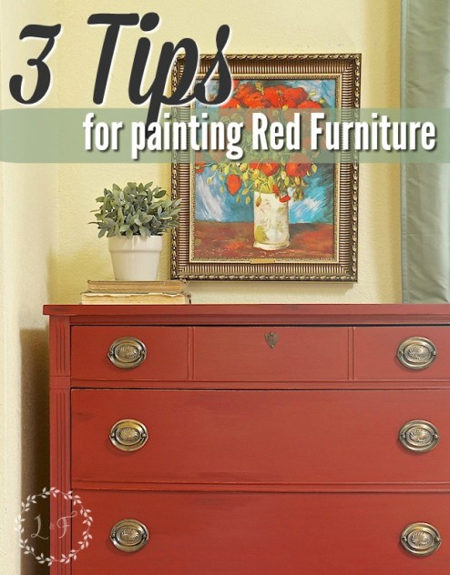 3 tips for red