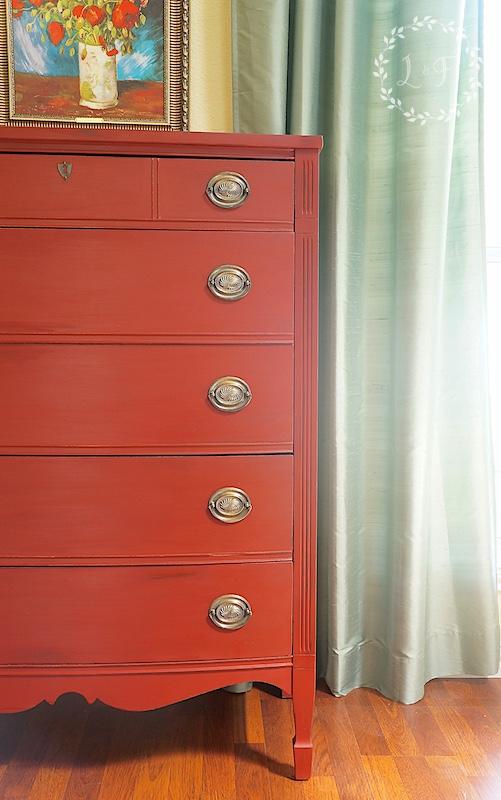 ft york red dresser 5