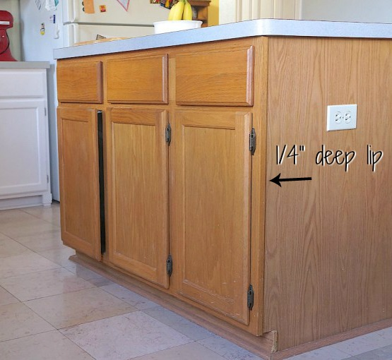 How to Customize a Kitchen Island with Trim | Lost & Found