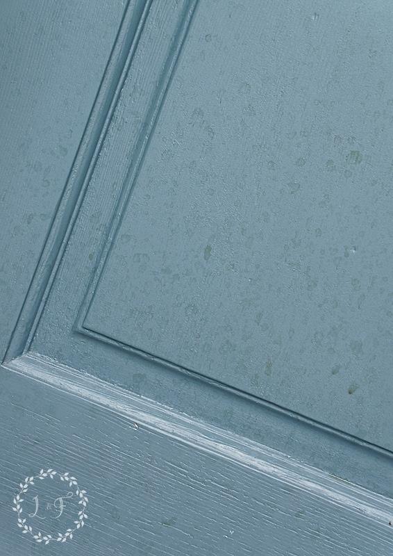 spots on door