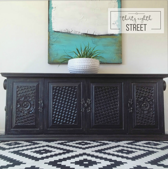 Refinished Media Console 1036