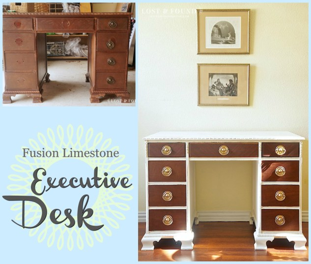 white executive desk Different Styles for White Painted Furniture