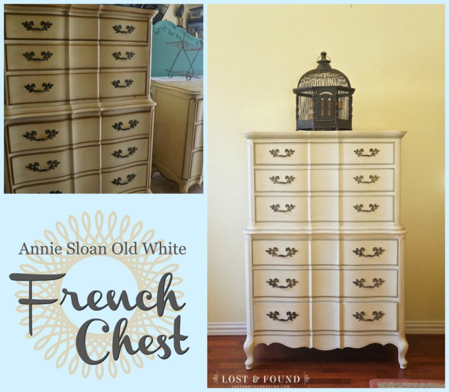 white french chest Different Styles for White Painted Furniture