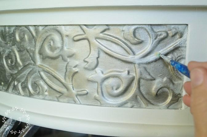 painting champlain detail