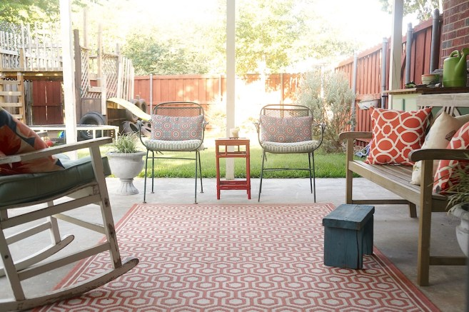 Budget Friendly Patio Makeover