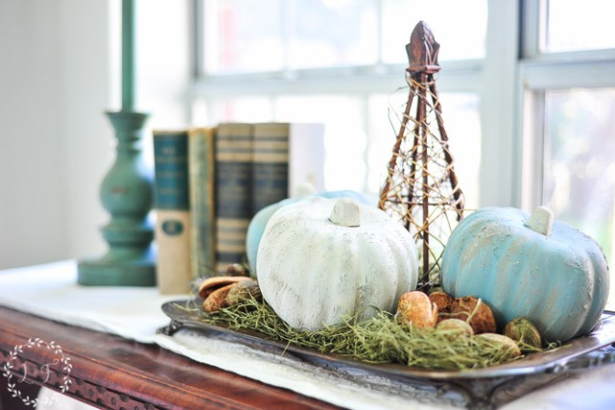 how-to-paint-dollar-store-pumpkins-white-paint