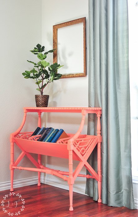 library-table-painted-fusion-coral