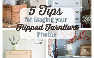 5 Tips to Stage Your Flipped Furniture Photos