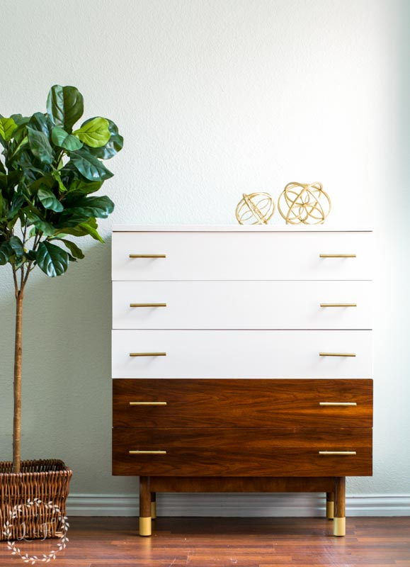How To Paint Mid Century Modern Furniture Melanie Alexander