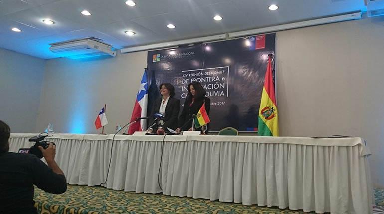 Chile y Bolivia acuerdan ejecutar programas de cooperación fronterizos