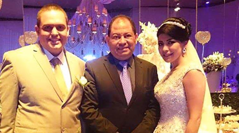 Resultado de imagen para Carlos Romero fue el padrino de bodas del narcotraficante Pablo Ramos Lima