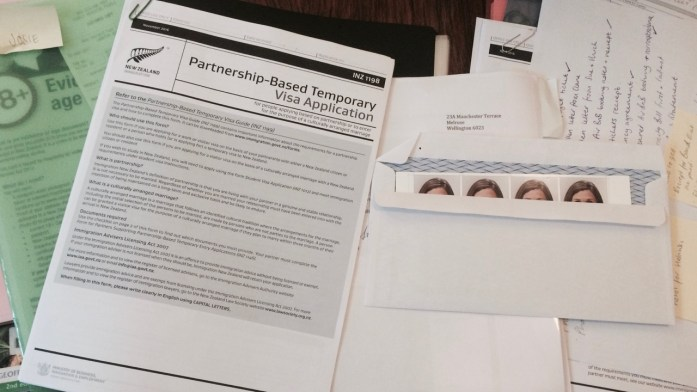 NZ Partnership Work Visa Application Forms