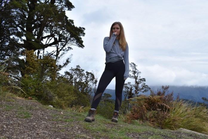 Josie at Field Hut Tararuas