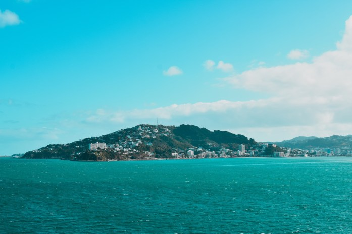 Wellington from interislander