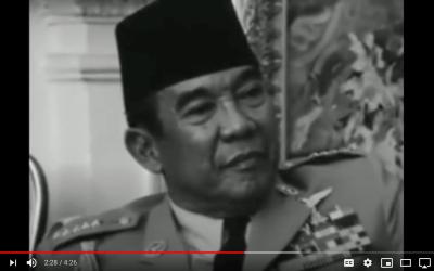 President Soekarno 1963
