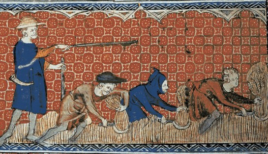 middle ages slavery