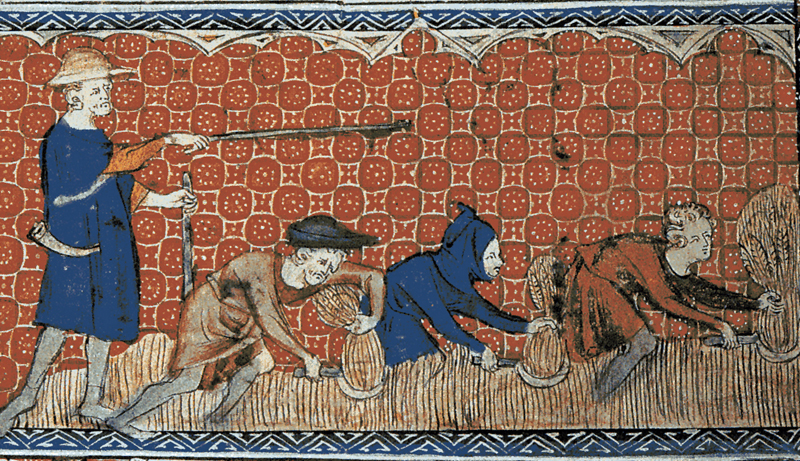 The life of a villager during the Middle Ages