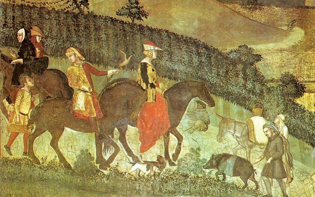 Medieval land measuring units