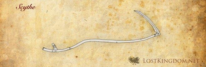 Medieval tools: Scythe