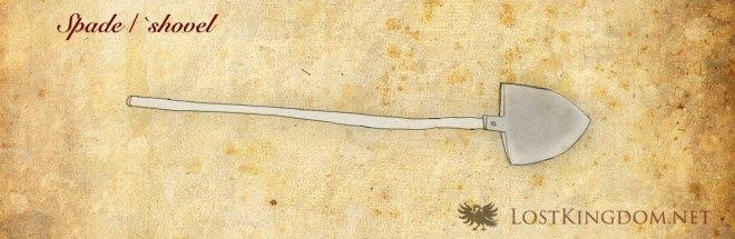 Medieval tools: Spade / Shovel