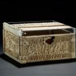 Writing hook: Whalebone Medieval Box