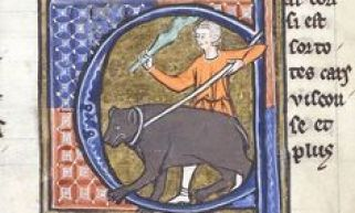 Unusual Medieval Profession Bearleader