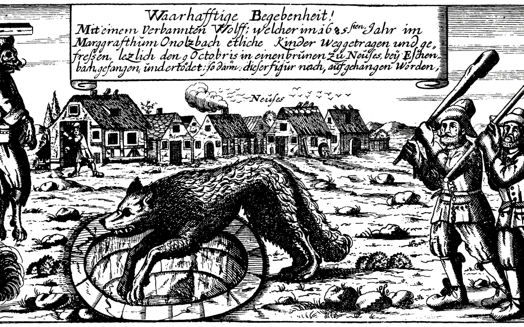 Wednesday Writing Hook #6:  The Werewolf of Bedburg