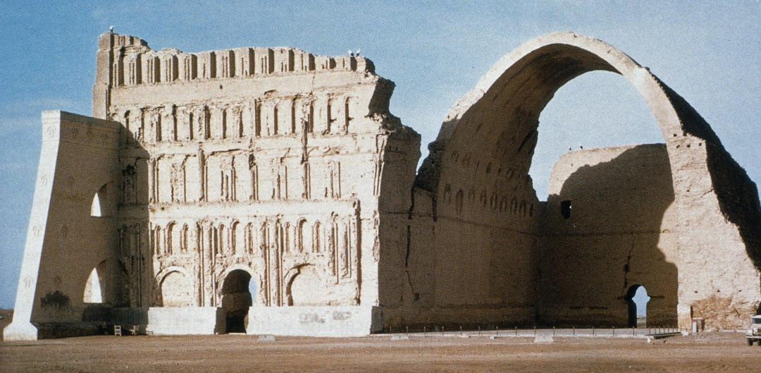 Ctesiphon Arch where the Baghdad Batteries were discovered