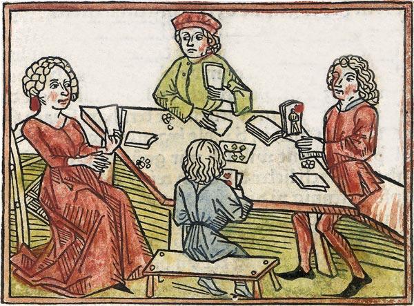 Medieval Gambling Games Dice & Street Games