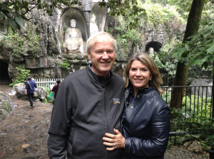 Chris and Kathleen Matthews in Hangzhou, China