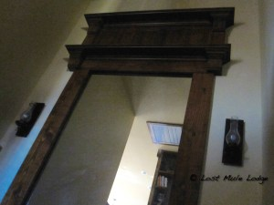 The Fireplace Mantle that Framed the Mirror