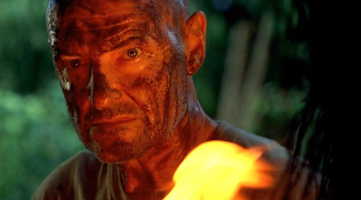 Locke on fire