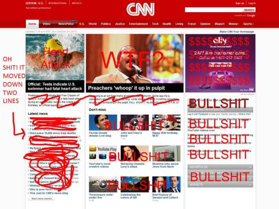 cnn website front page