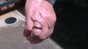 Returned wedding ring