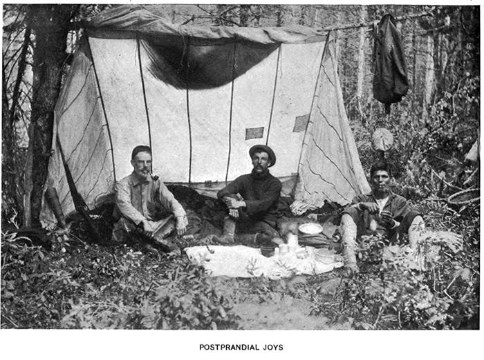 Postprandial joys - temporary shelter