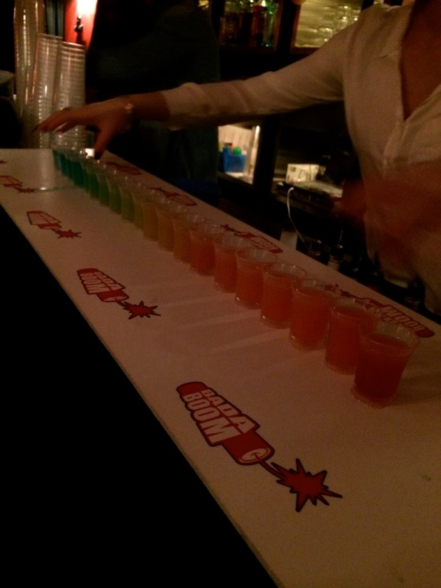 And then the rainbow shots!