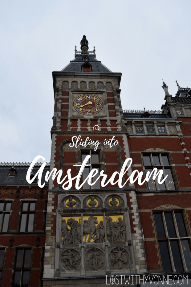 Sliding into Amsterdam