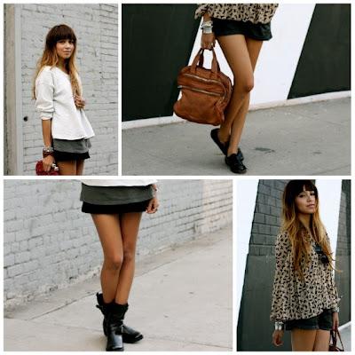 vestido con shorts