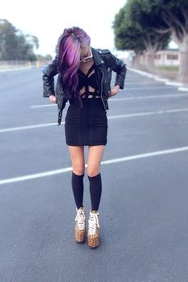 vestidos cortos raros