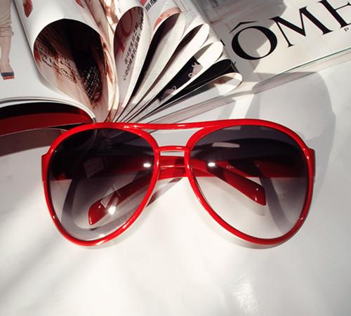 Vintage-sunglasses-multicolour-large-anti-uv-sunglasses-glasses-male-Women