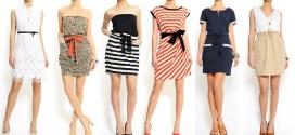 Vestidos cortos para el verano