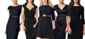 Vestidos negros según tu tipo de cuerpo
